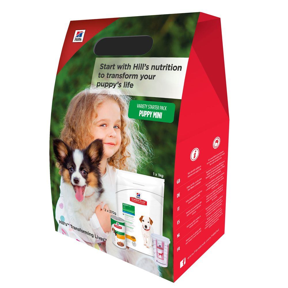 Special Puppy Starter Kits (incl. dry + wet food)