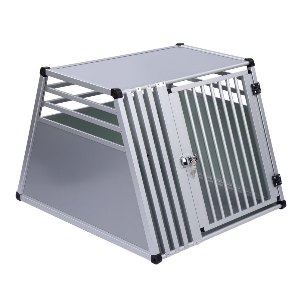 The Aluline Dog Crate is an aluminium plastic composite transport box and is a safe and comfortable way to transport your dog when travelling by car. This high qua...