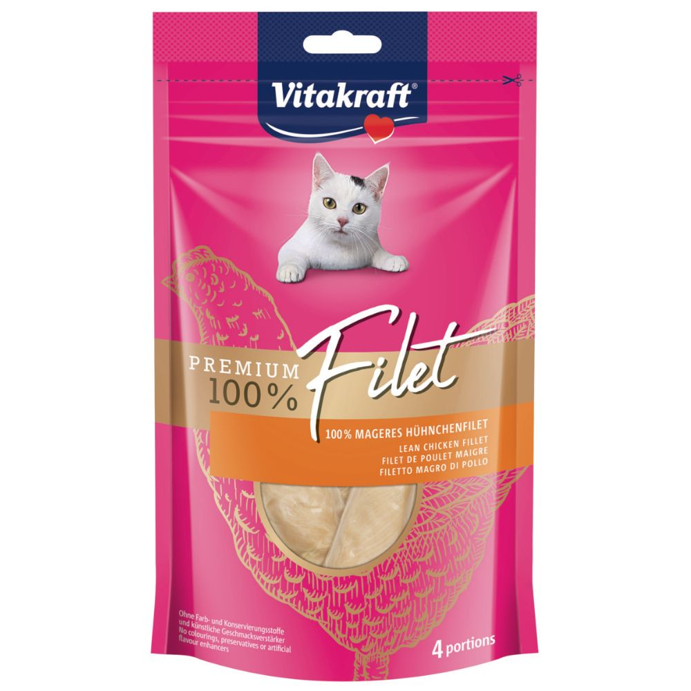 Vitakraft Premium Filet - 70 g Kyckling
