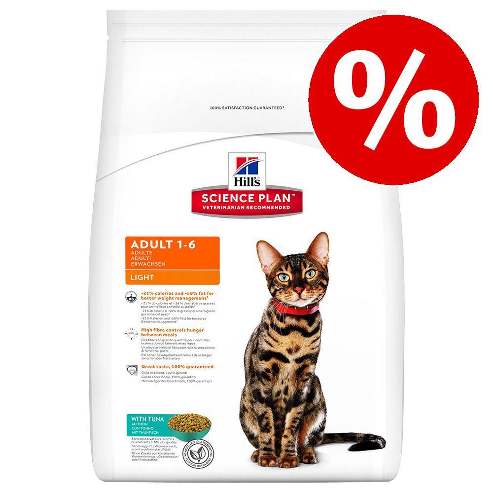 20 % rabatt på Hill's Science Plan torrfoder för katt! Adult 1-6 Optimal Care Light Tuna 5 kg