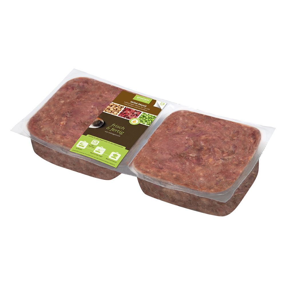 proCani Menu Dziczyzna, groch i ziemniaki, bez zbóż - 5 x 800 g