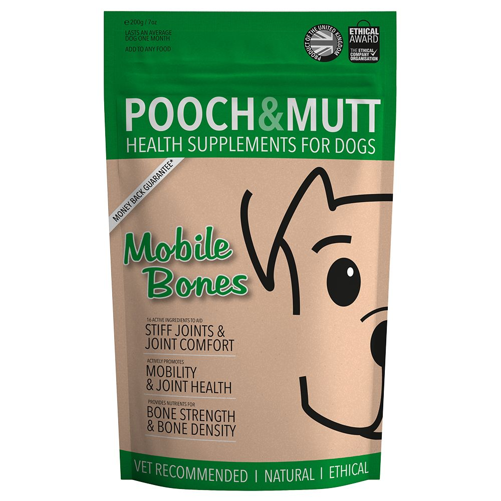 Pooch and Mutt Mobile Bones Dog Supplement