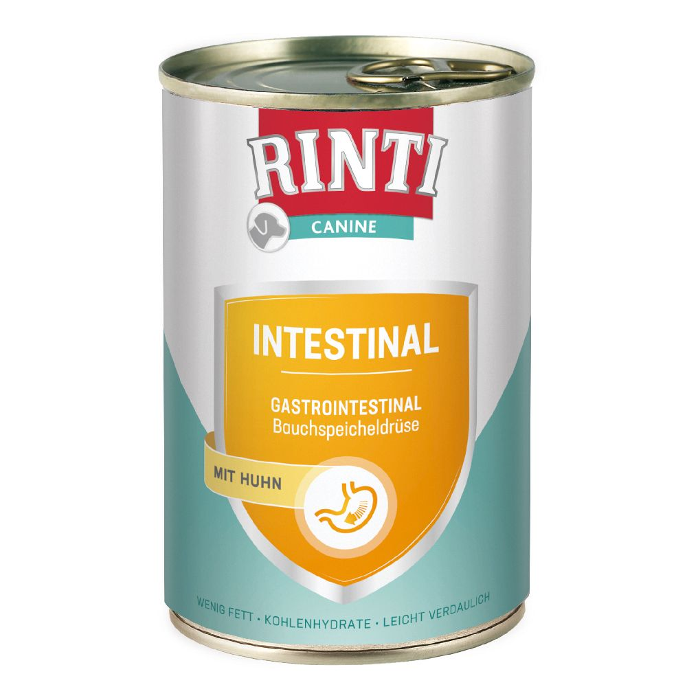 RINTI Canine Intestinal mit Huhn 400 g - 6 x 400 g