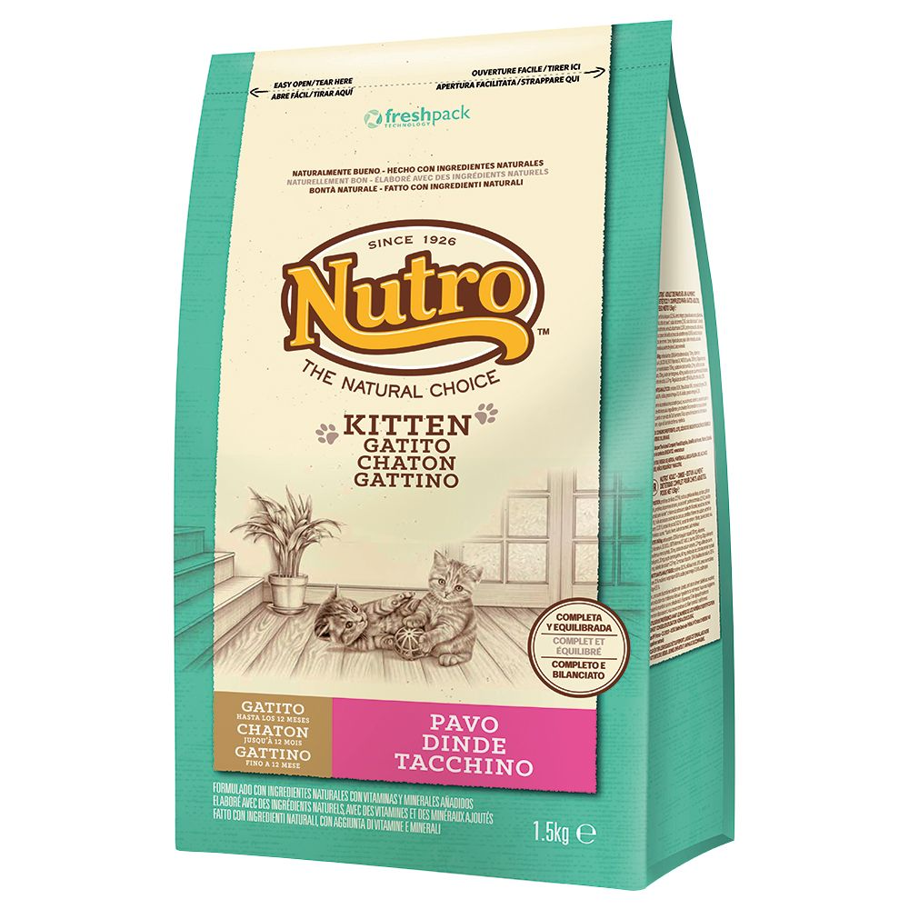 Nutro Natural Choice Kitten - Ekonomipack: 3 x 1,5 kg