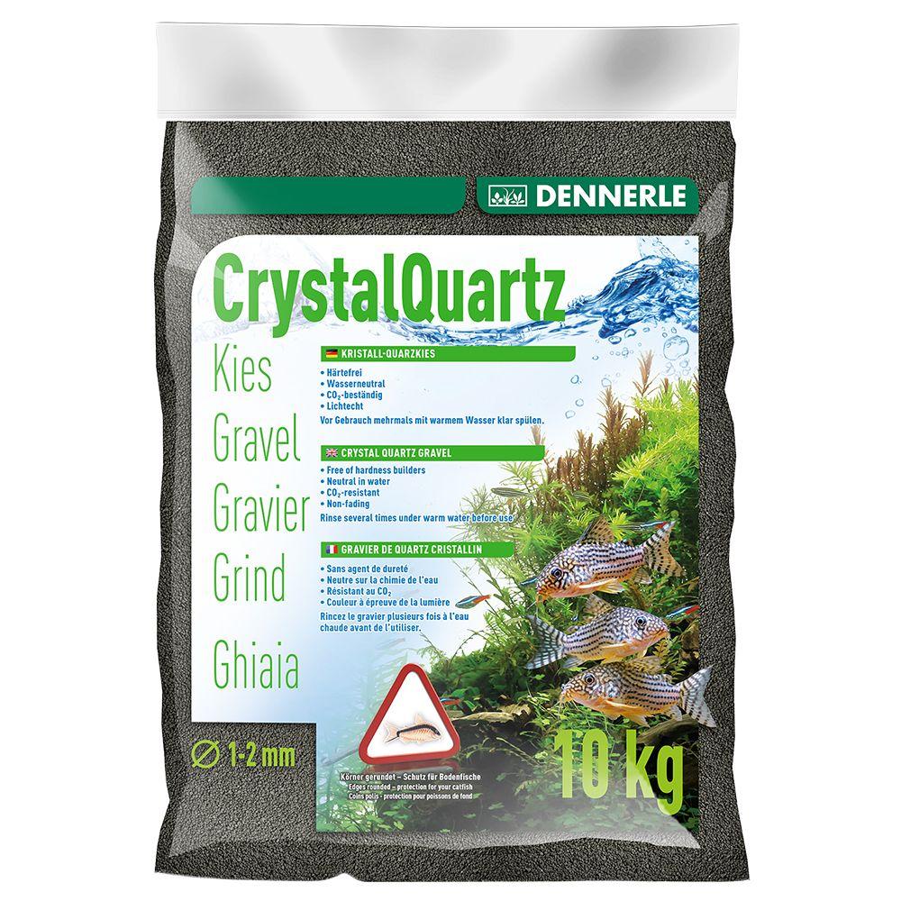 Dennerle Aquarienkies 10 kg - diamantschwarz
