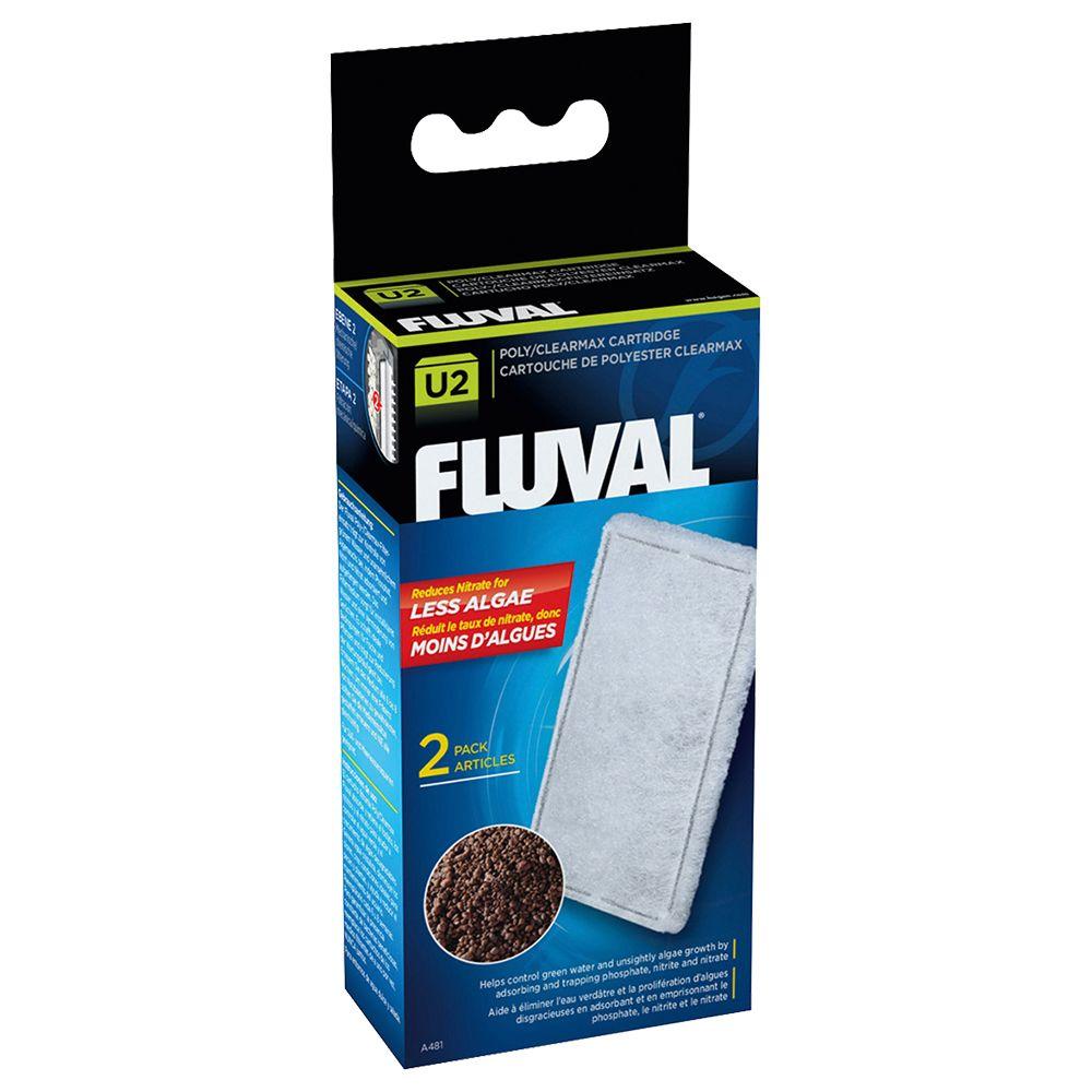 Fluval Clearmax filterpatron - För U2, 2 st