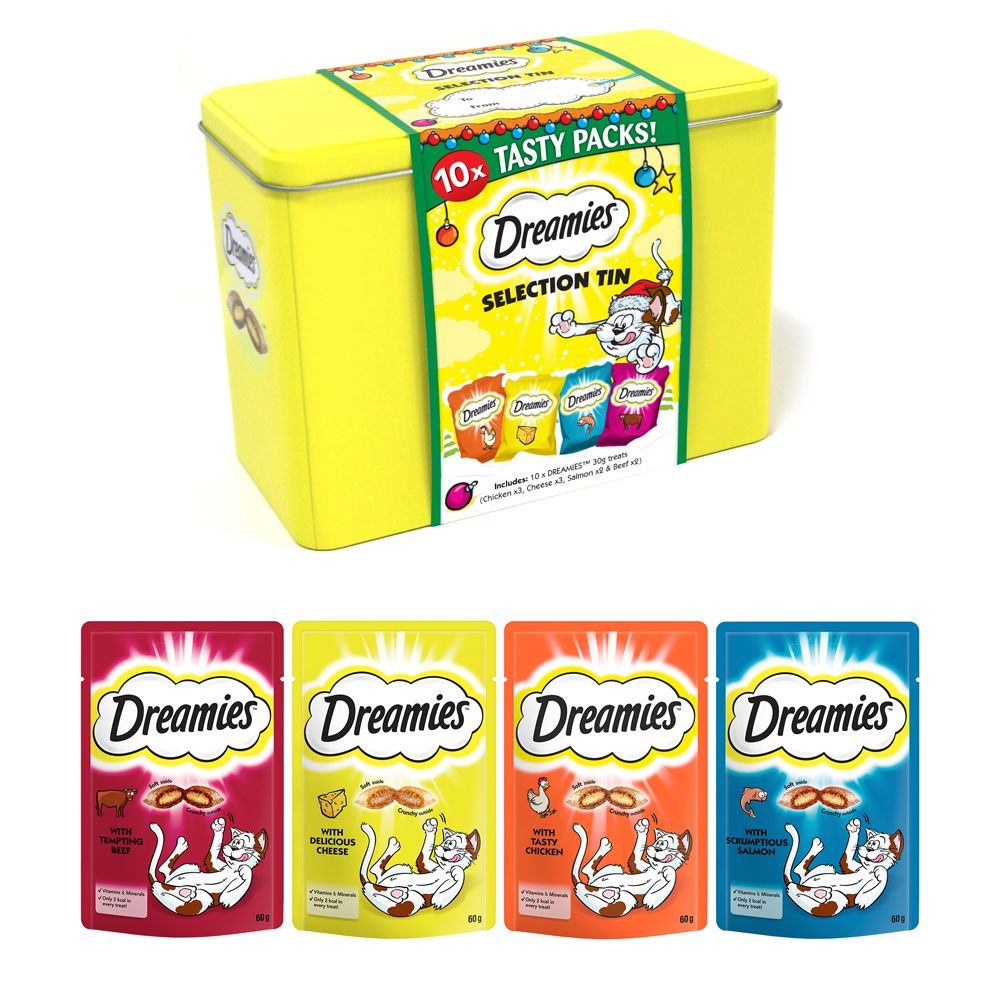 Dreamies Festive Gift Tin