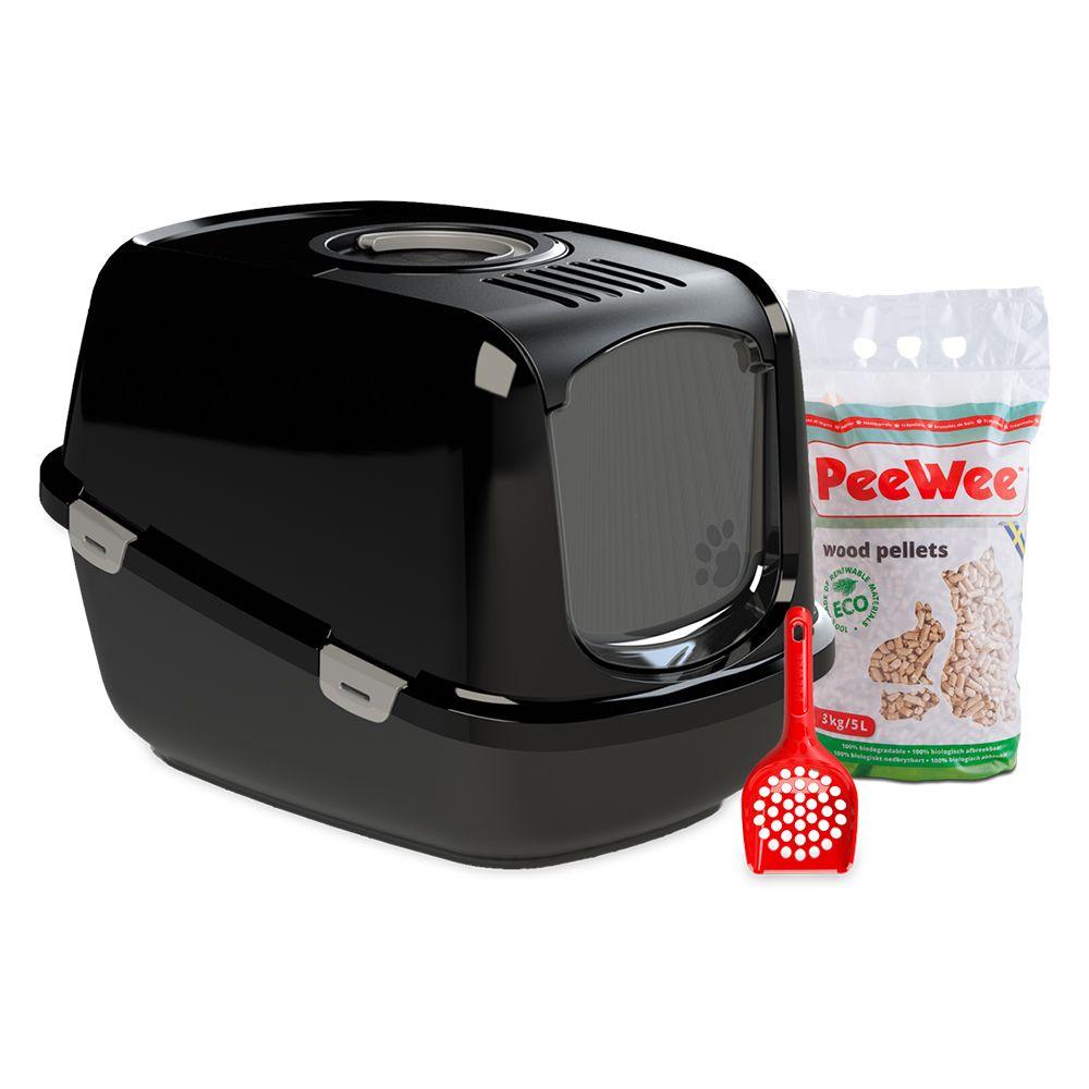 PeeWee EcoDome startpack - Black Black