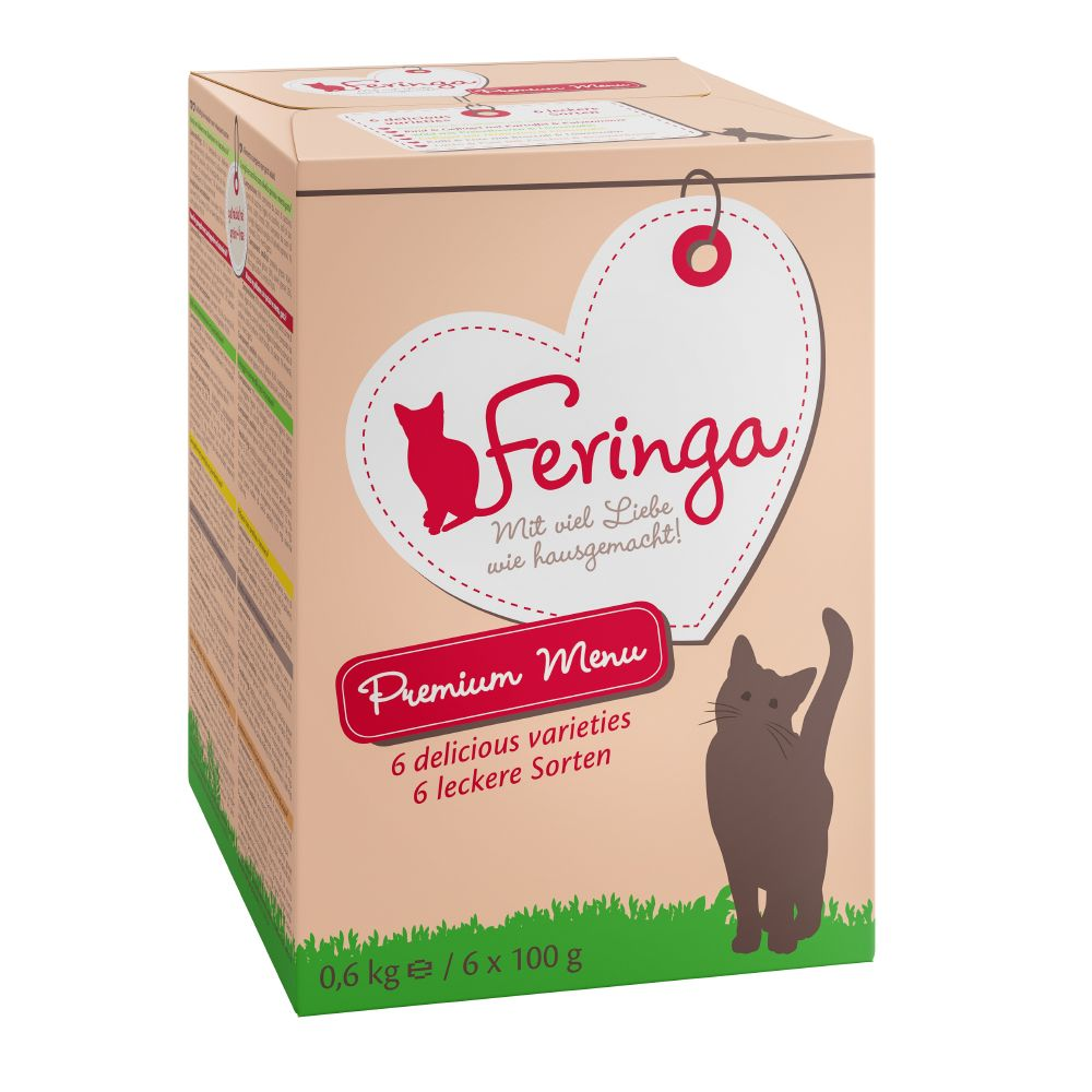12 x 100g Feringa Trays Wet Cat Food