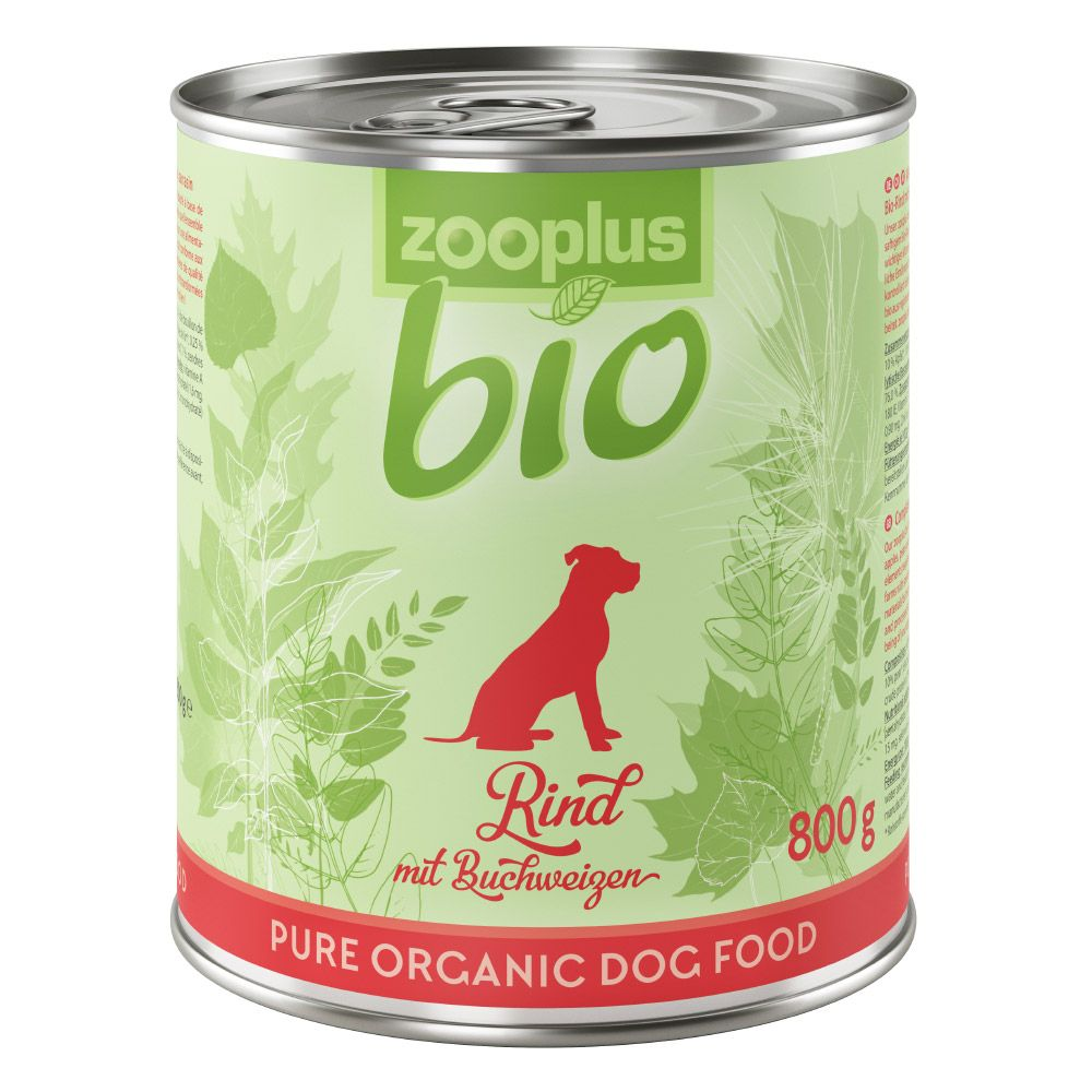 12 x 800g zooplus Bio Wet Dog Food