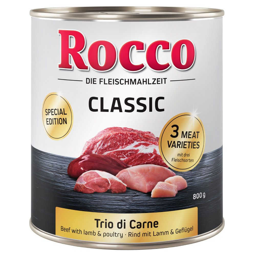 Trio di Carne Rocco Classic Adult Wet Dog Food