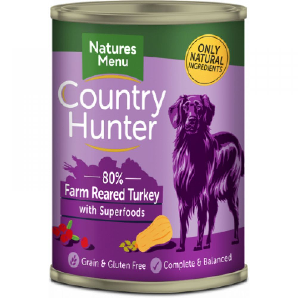 Country Hunter Natures Menu Dog Food Cans