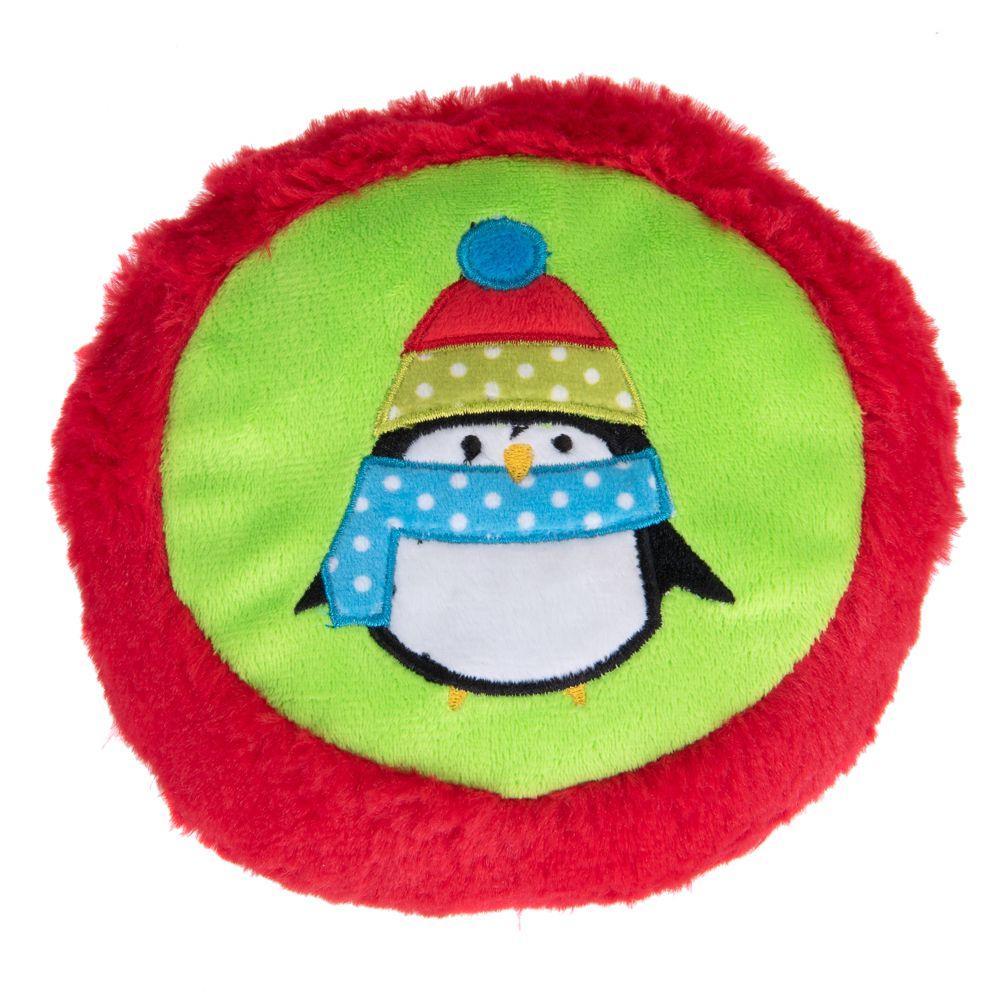 Penguin Frisbee Dog Toy - 1 Toy