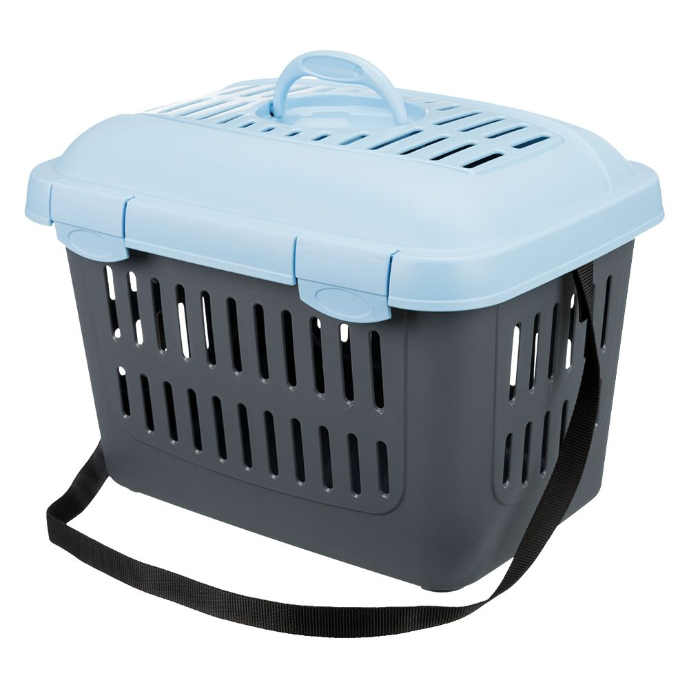 Trixie Midi-Capri Pet Carrier Dark Grey/Blue 44x33x32cm (LxWxH)