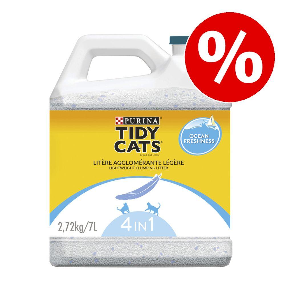 Purina Tidy Cats Lightweight Klumpstreu Ocean Freshness zum Sonderpreis! - 7 l