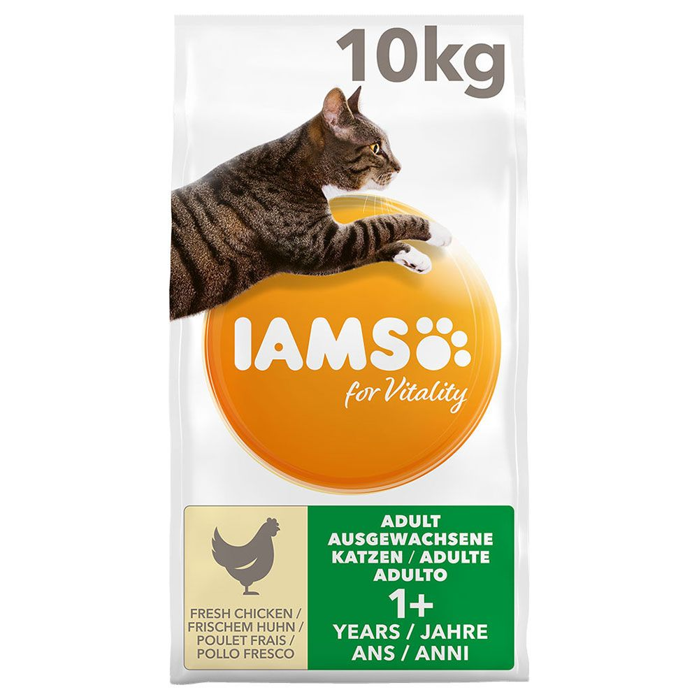 IAMS for Vitality Adult com frango - 10 kg
