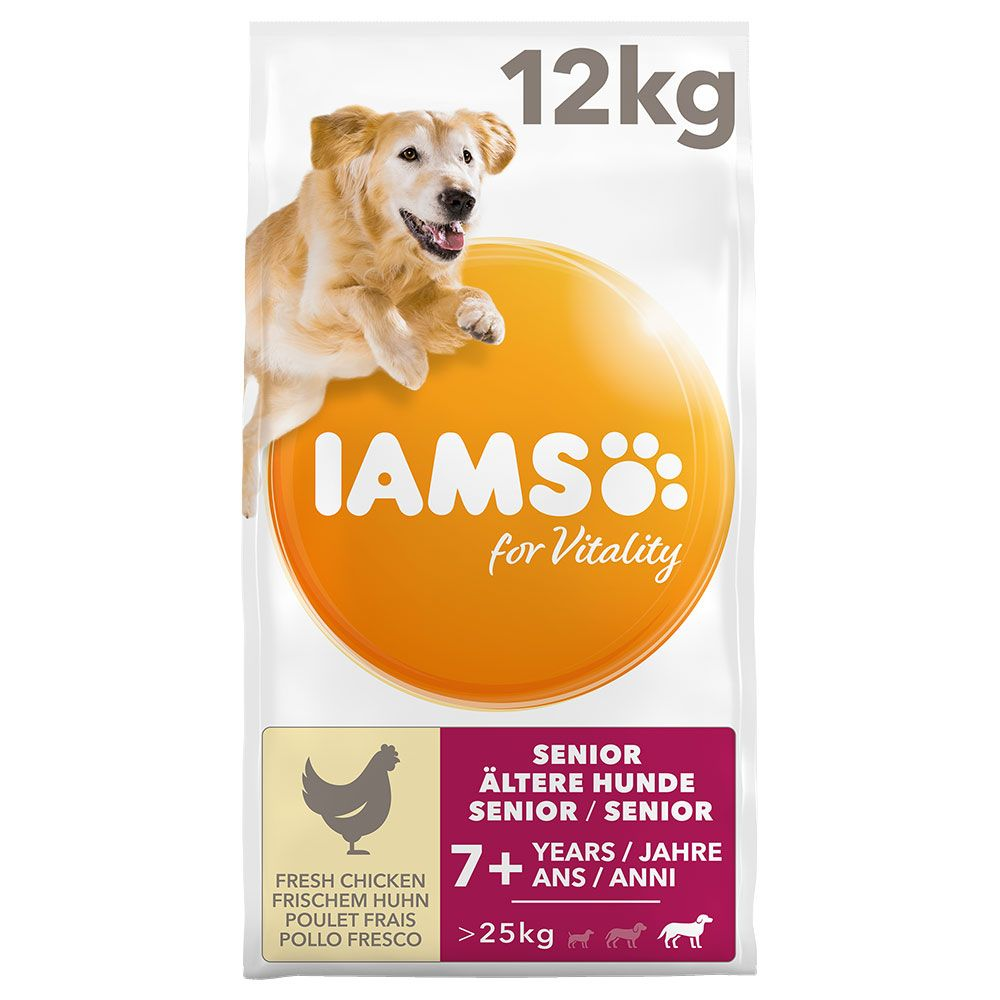 IAMS for Vitality Large Senior & Mature Chicken Dry Dog Food