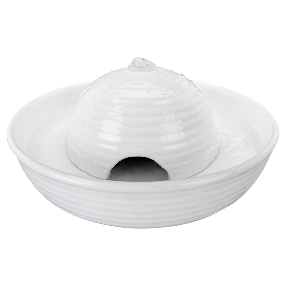 Trixie Keramik Trinkbrunnen Vital Flow - Trinkbrunnen Vital Flow 1,5 l