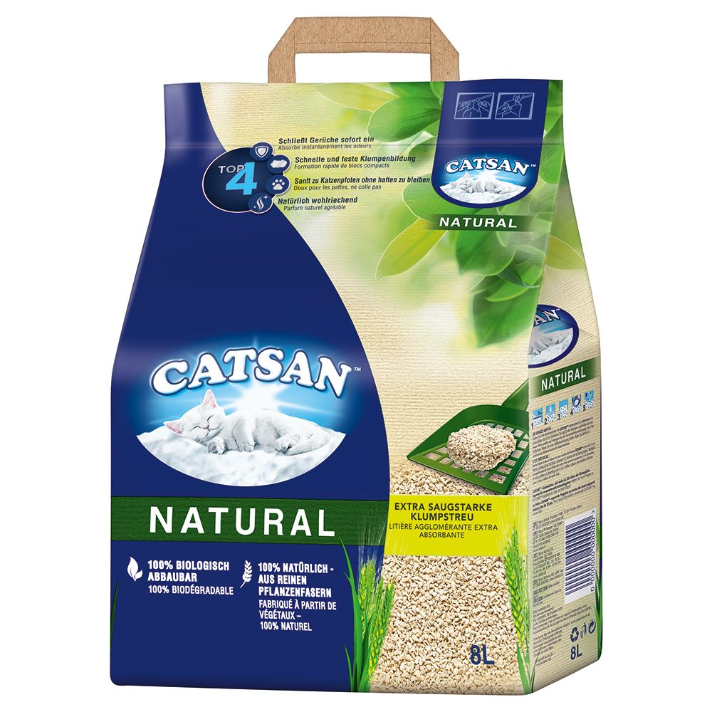 20l Catsan Natural Cat Litter - 15l + 5l Free!* - 15l + 5l Free!