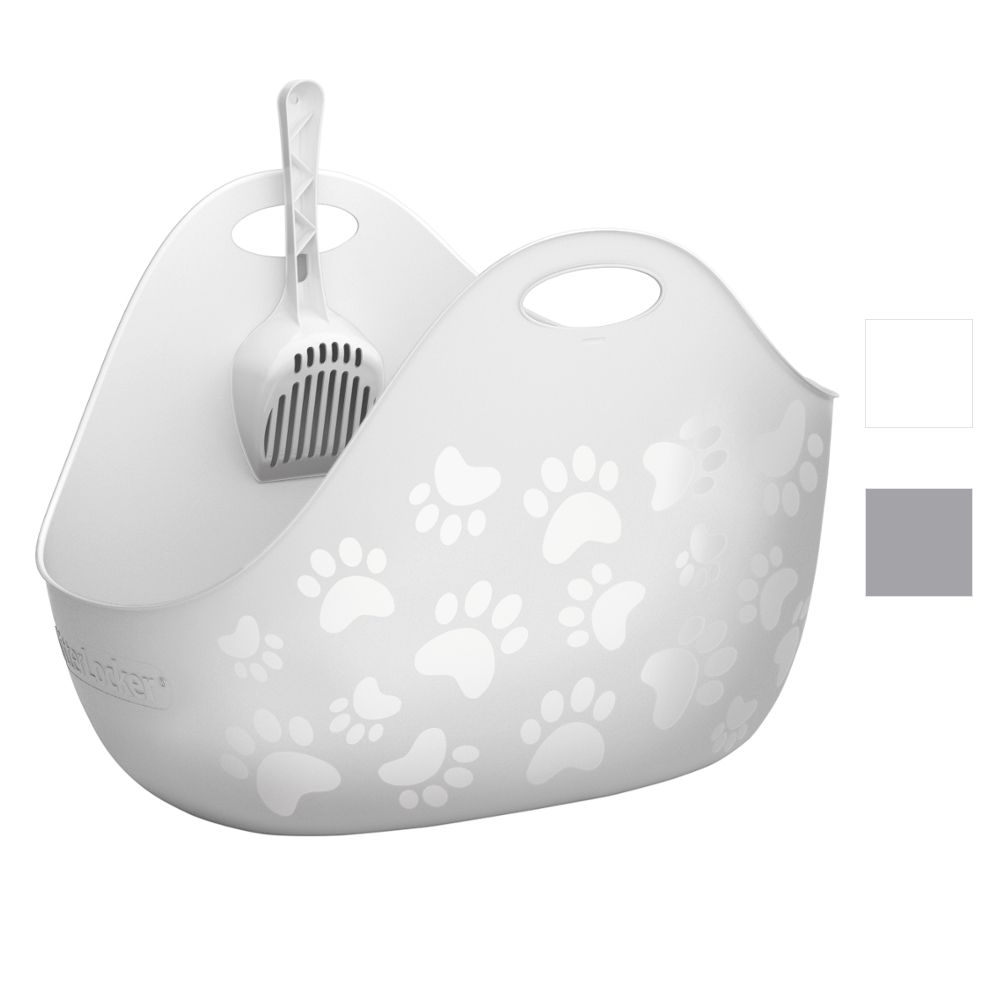 LitterLocker® Litter Box kattlåda - vit