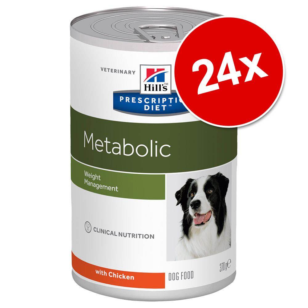 Hill's Prescription Diet latas para perros - Pack Ahorro - d/d con salmón 24 x 370 g