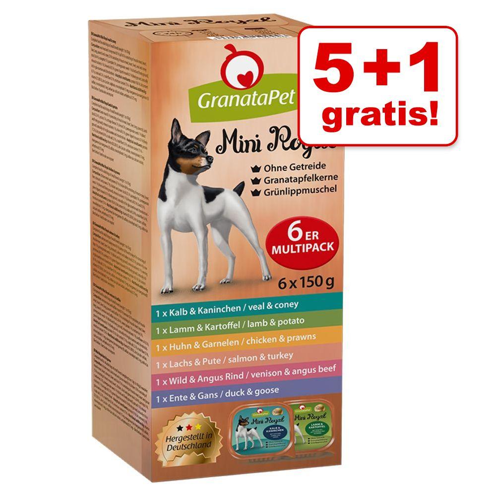 Image of GranataPet Mini Royal Pacco misto 150 g - Set %: 48 x 150 g
