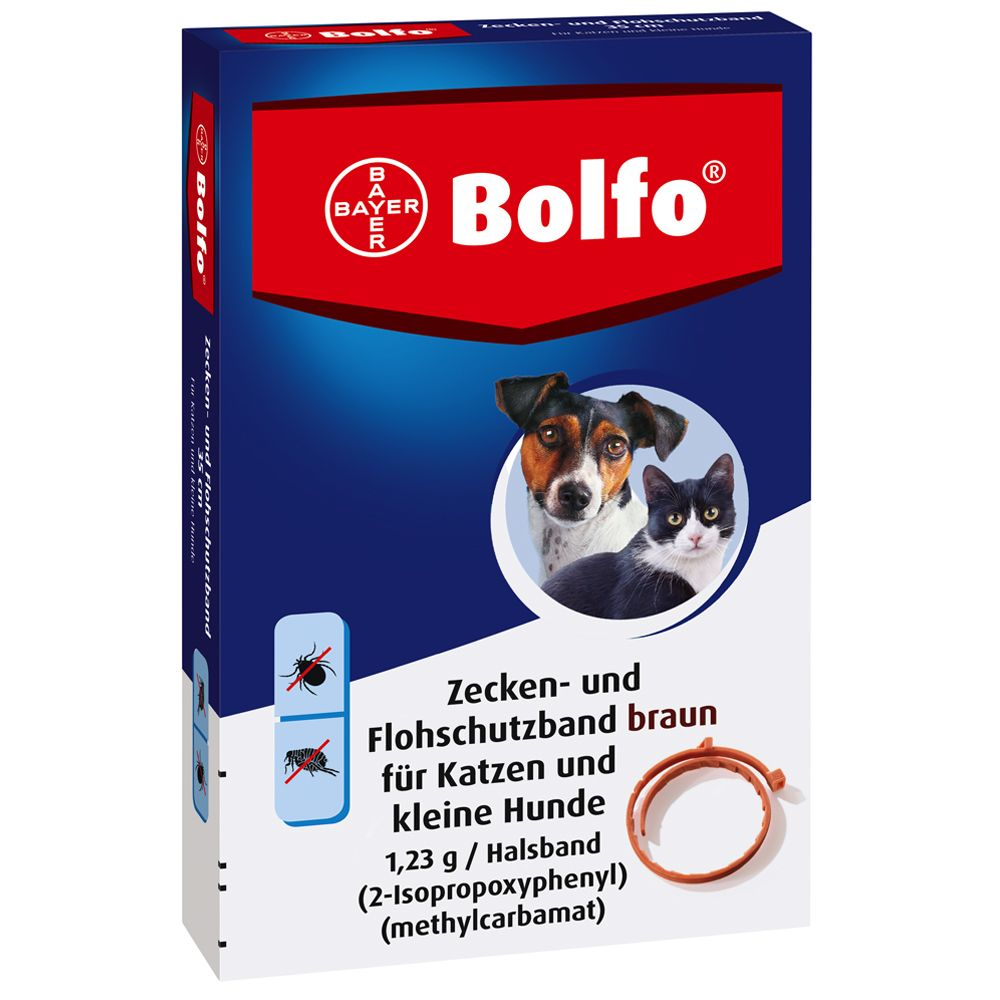 Bolfo® Zecken- und Flohschutzband 35 cm - 3 Stück