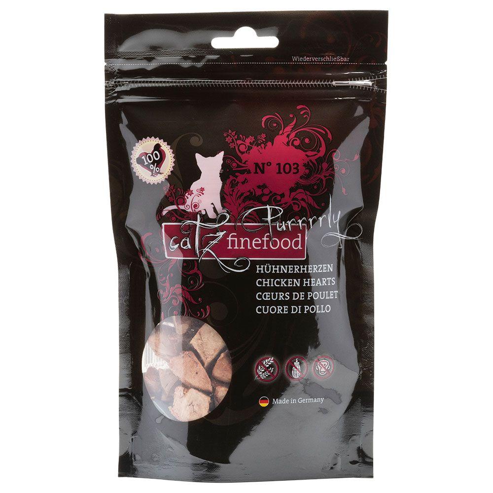 catz finefood Purrrrly - Kycklinghjärtan 35 g