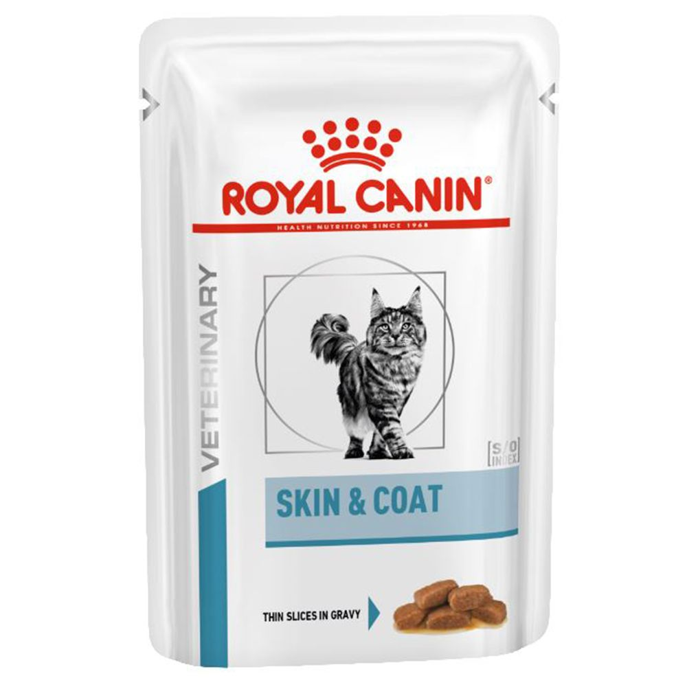 Adult Skin & Coat Royal Canin Vet Care Nutrition Wet Cat Food