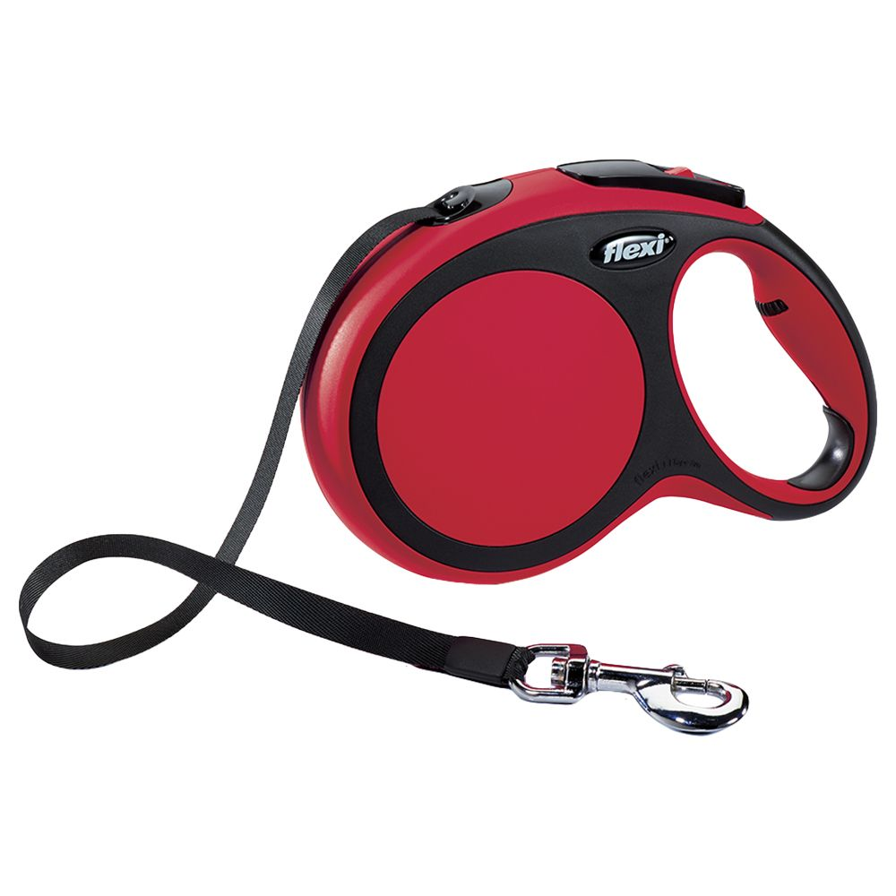 Flexi New Comfort Large 8m Red Retractable Cord Lead