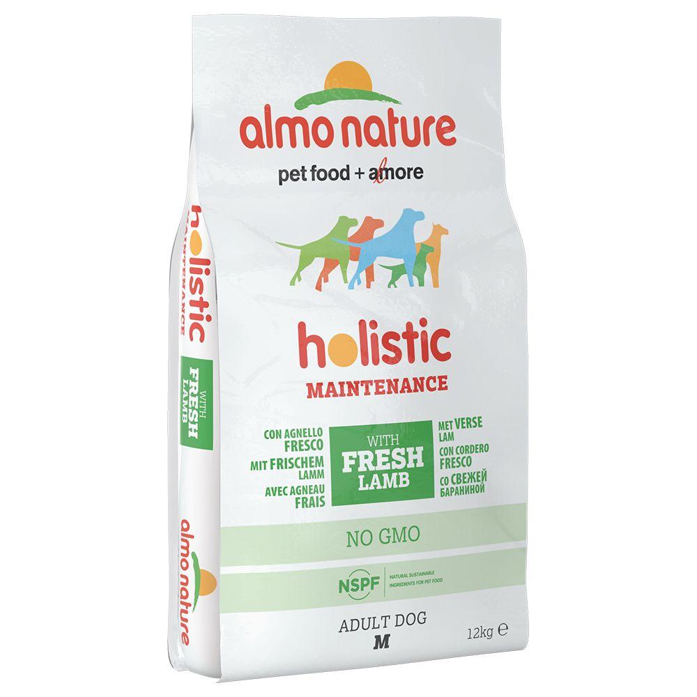 Image of Almo Nature Holistic Medium Adult con Agnello - 12 kg