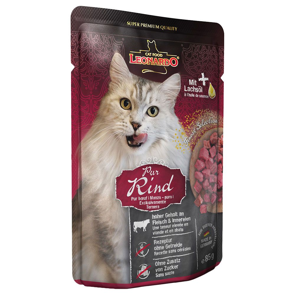 Leonardo Finest Selection Pouch 16 x 85 g Trout & Catnip