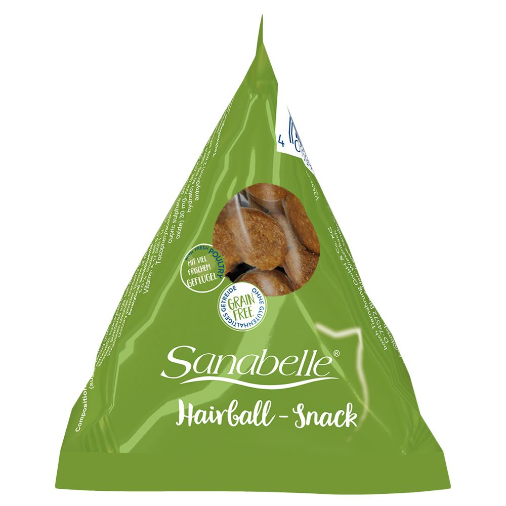 Sanabelle Hairball Snacks Cat Treats