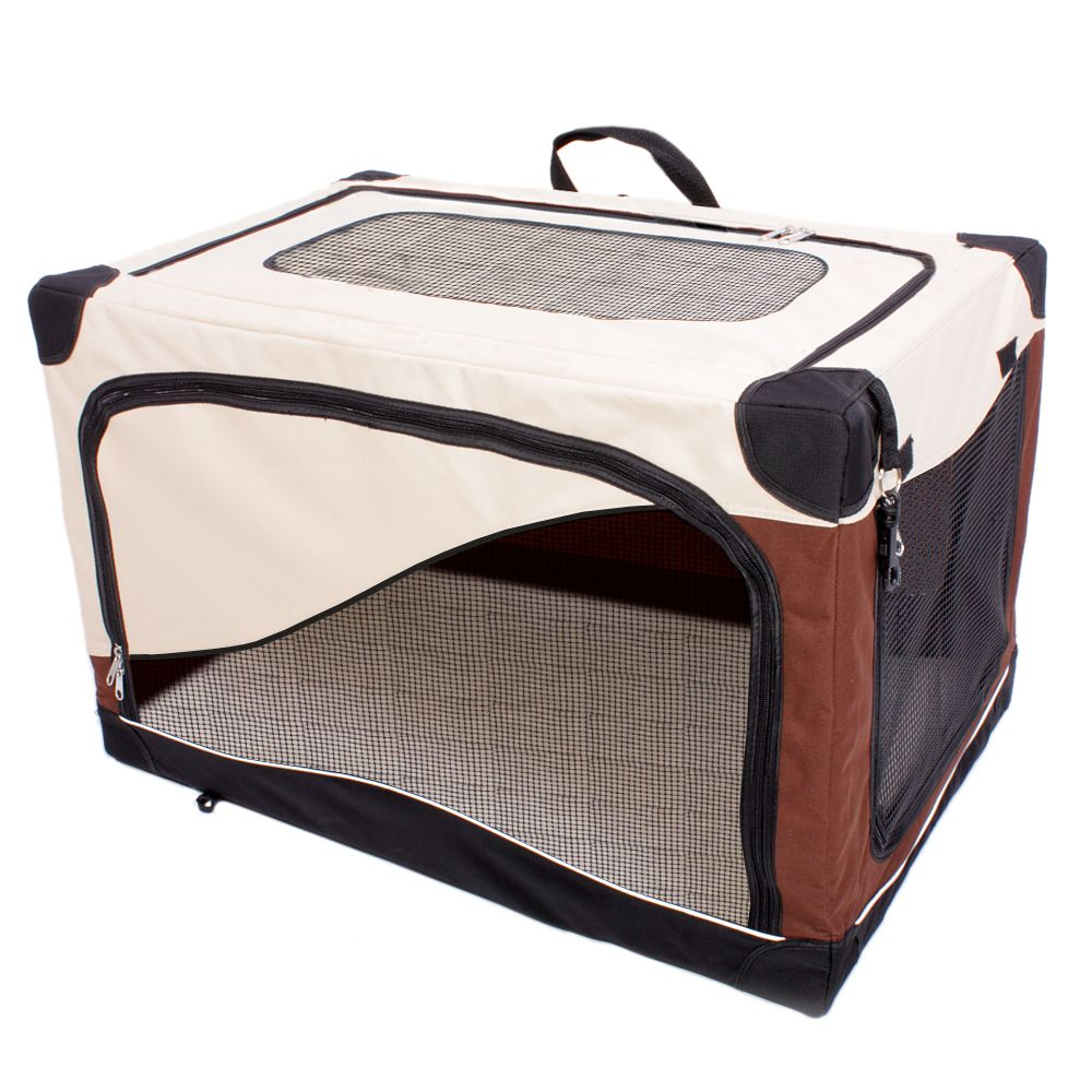 Pet Home portabel transportkoja - Storlek XL: B 71 x T 106 x H 68,5 cm