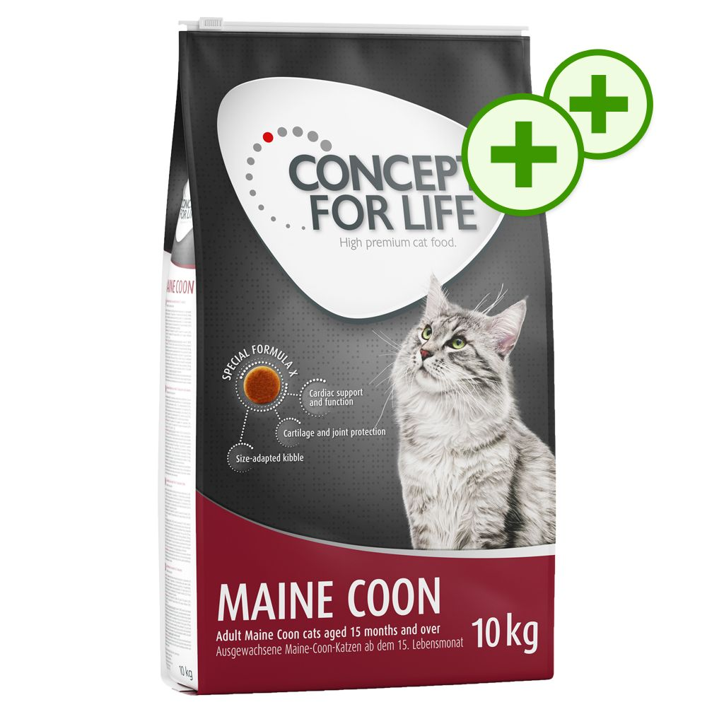 Image of Doppi Punti Fedeltà: 9 - 10 kg Concept for Life - All Cats 10+ 9 kg