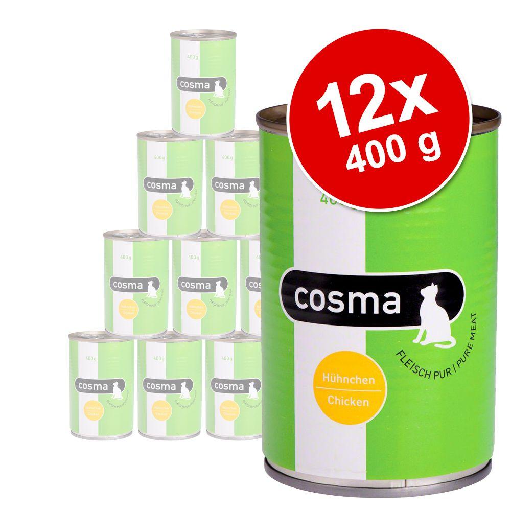 Foto Set prova misto Cosma Original e Thai 12 x 400 g - Original - 3 gusti assortiti Set plurimarca