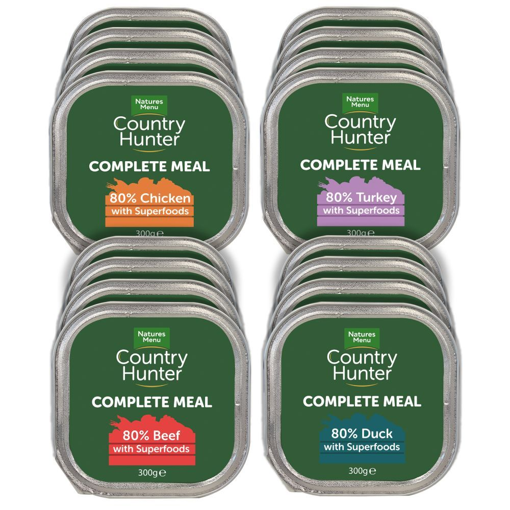 Country Hunter Natures Menu Dog Food Trays