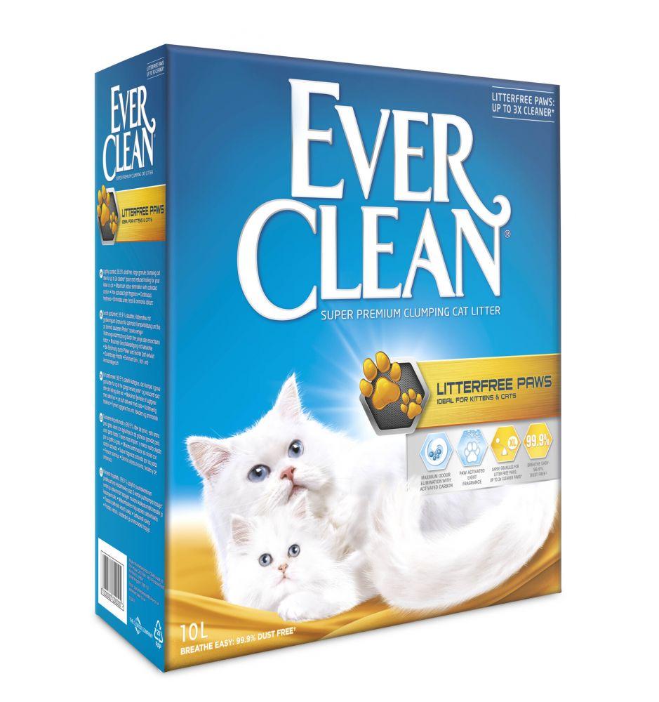 Ever Clean® Litterfree Paws kattsand - 10l