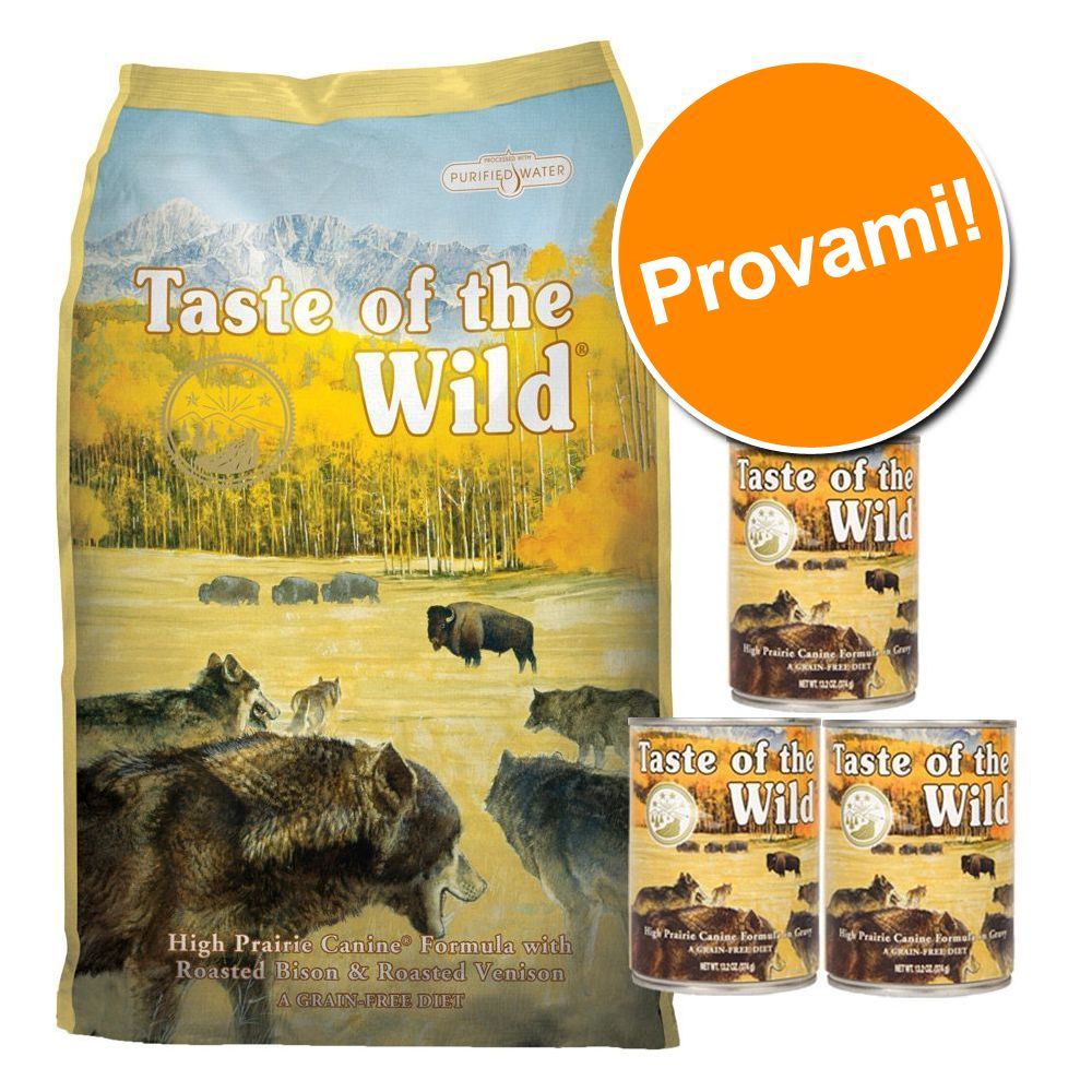 Foto Set prova misto! 6 kg + 3 x 374 g Taste of the Wild - Wetlands Canine