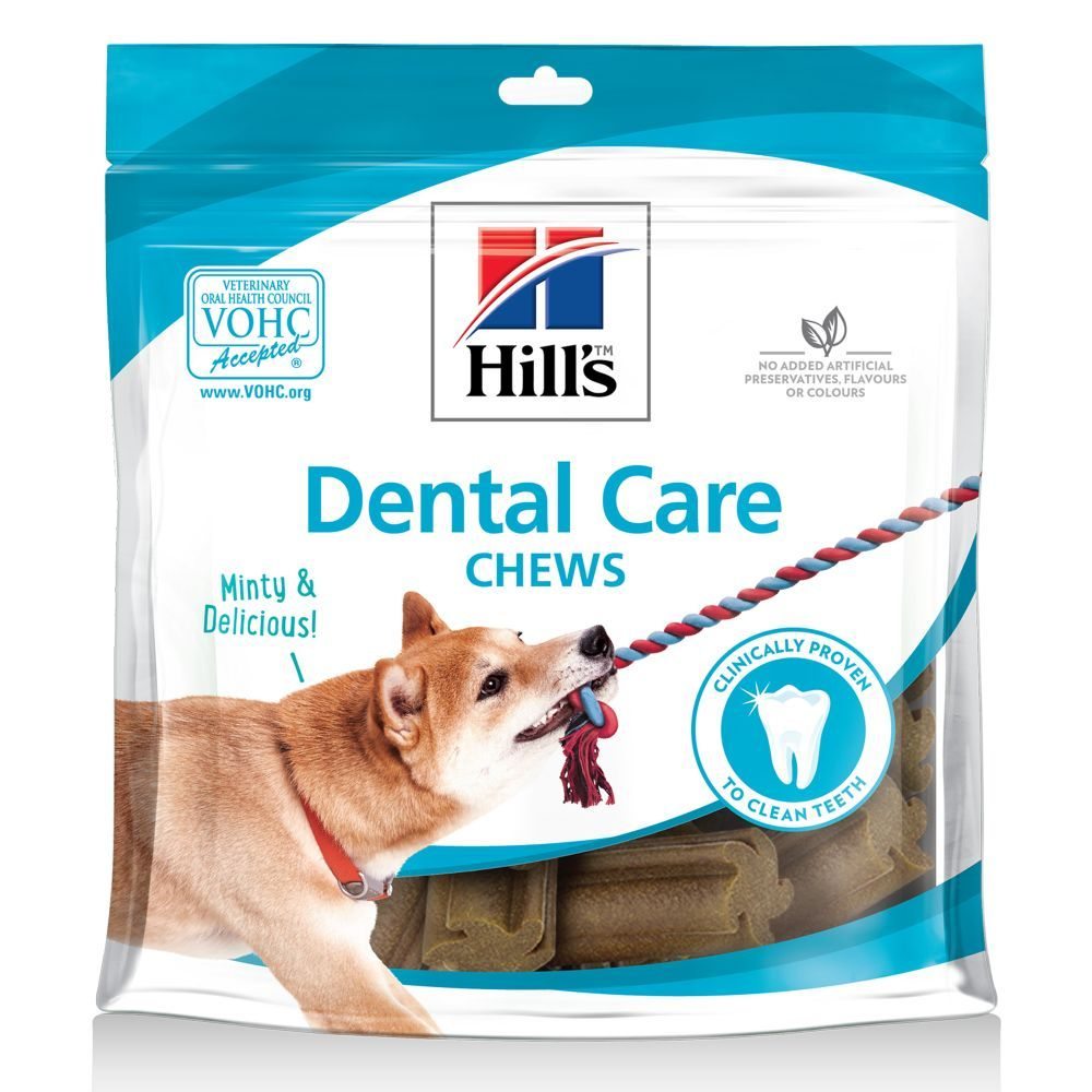 Dental Care Chews Hill's Dog Treats