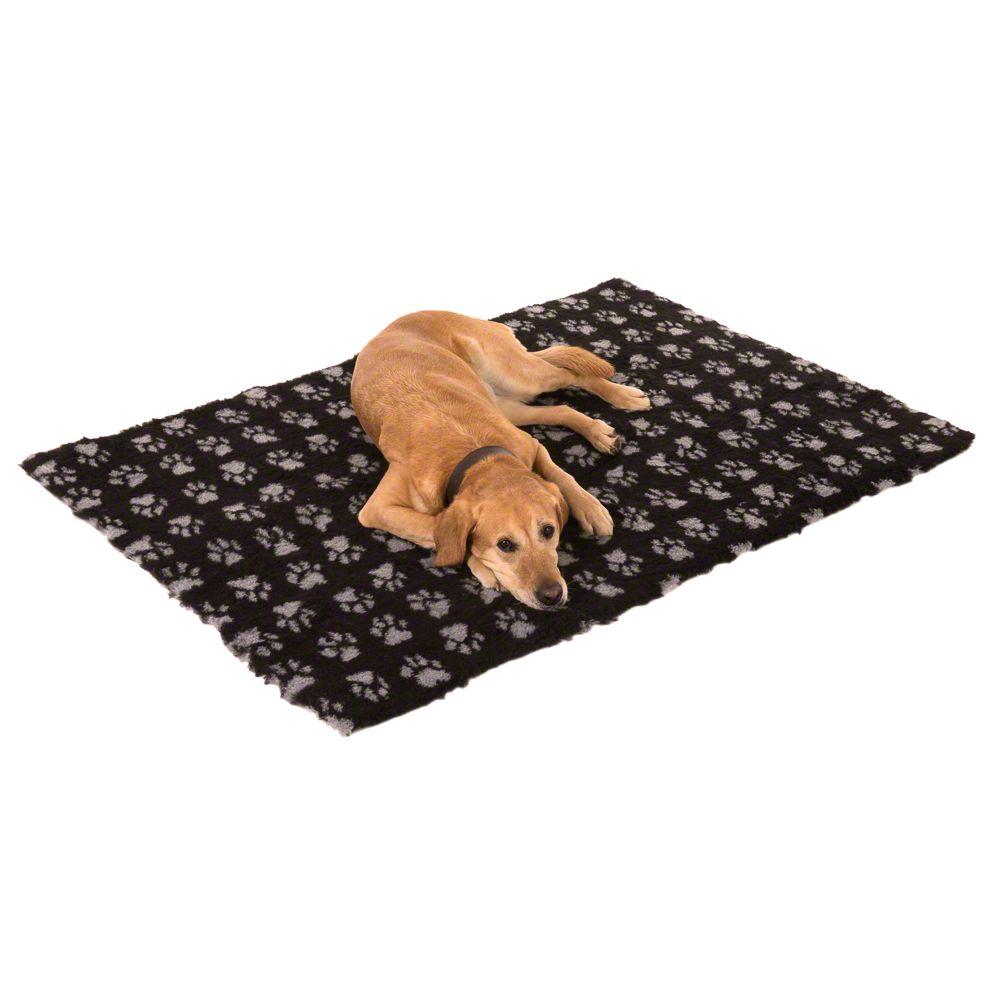 Vetbed® Isobed Koc dla psa, czarnyszary  Dł. x szer.: 75 x 50 cm