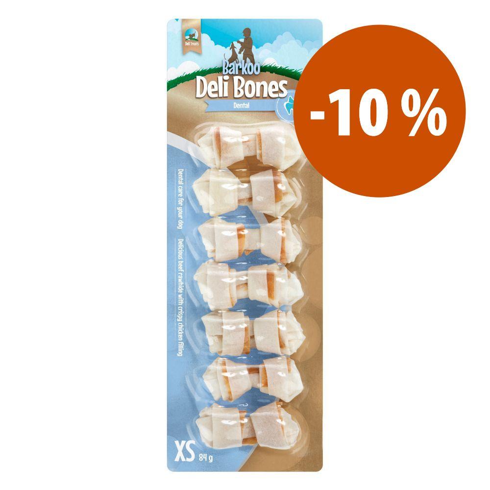 Image of Barkoo Ossi annodati Deli Bones Dental - M, 1 pz da 14 cm (70 g)