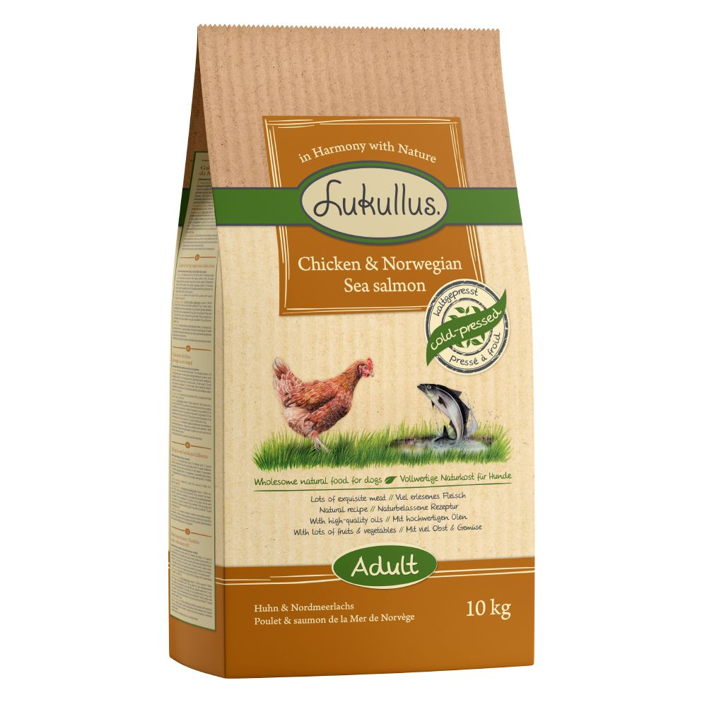 Chicken & Norwegian Sea Salmon Lukullus Dry Dog Food