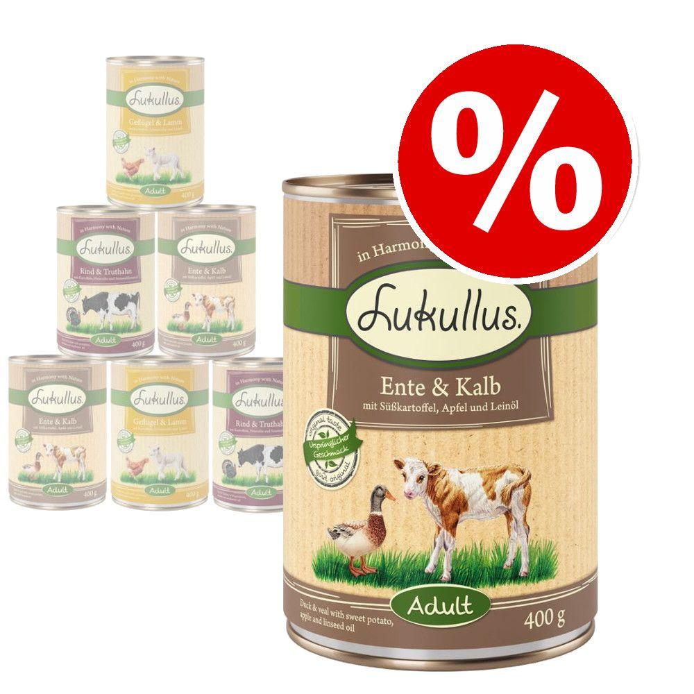 Lukullus Mixed Pack Grain-Free Wet Dog Food