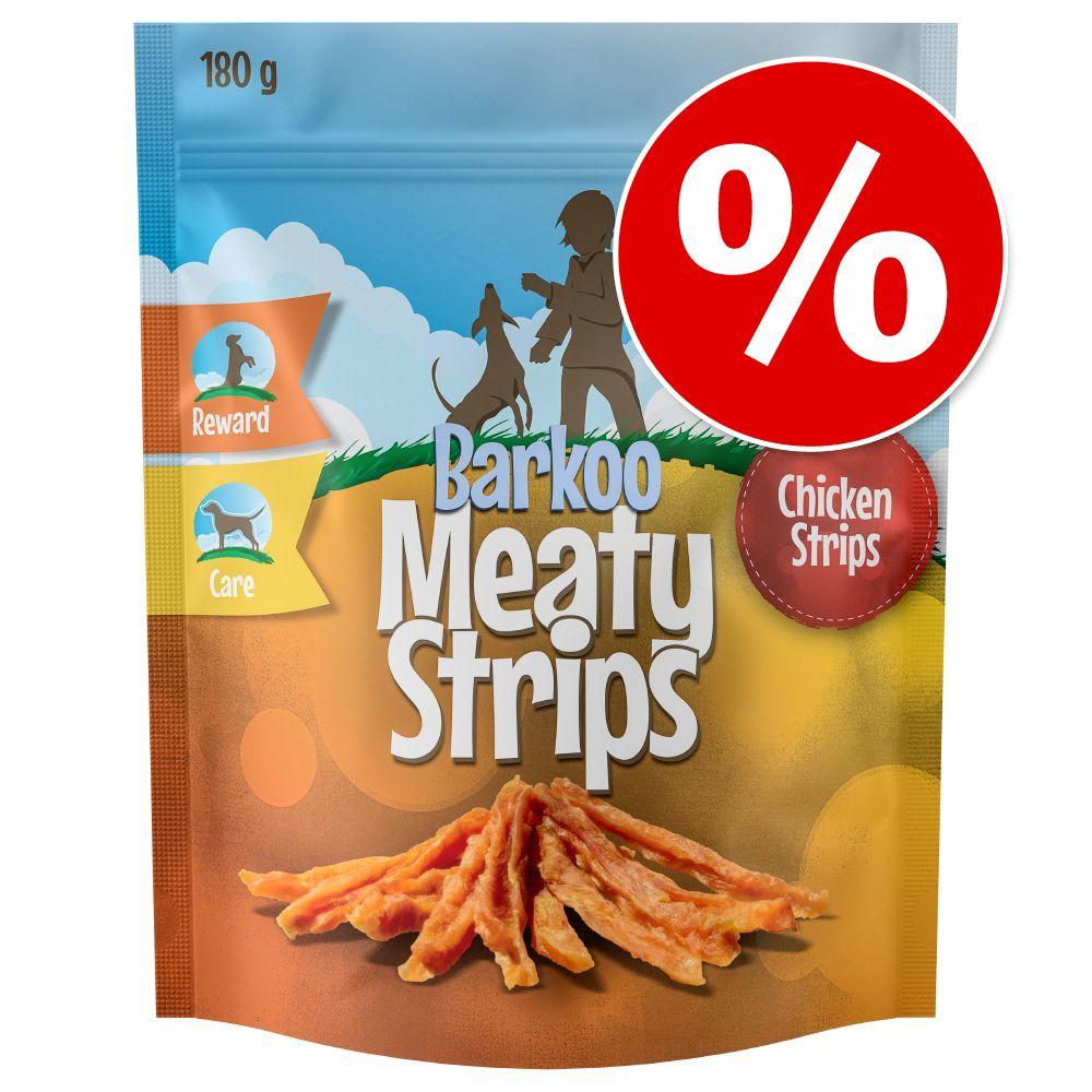 180 g Barkoo Meaty Strips zum Probierpreis! - 180 g