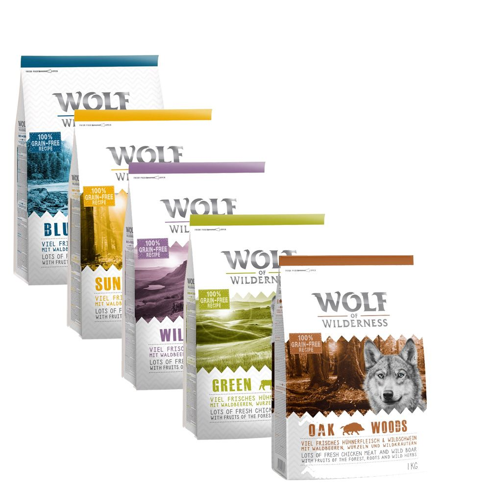 Variety Flavours Wolf of Wilderness