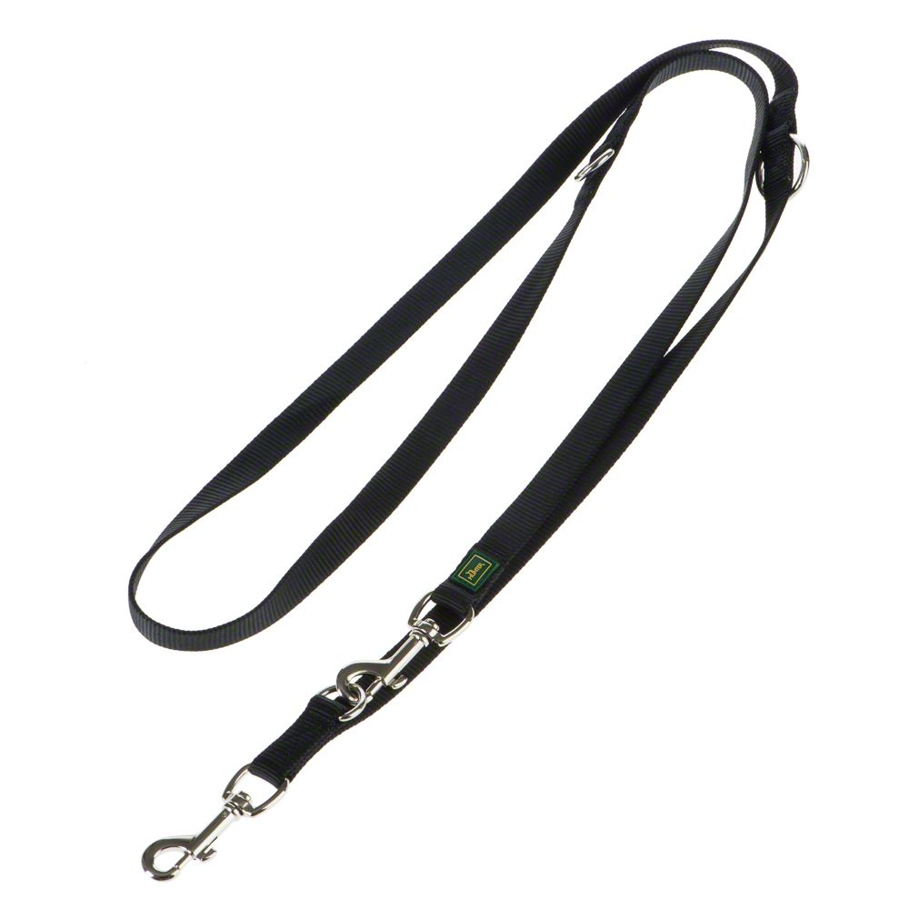 Hundeleine Vario Basic in schwarz, 200 cm lang