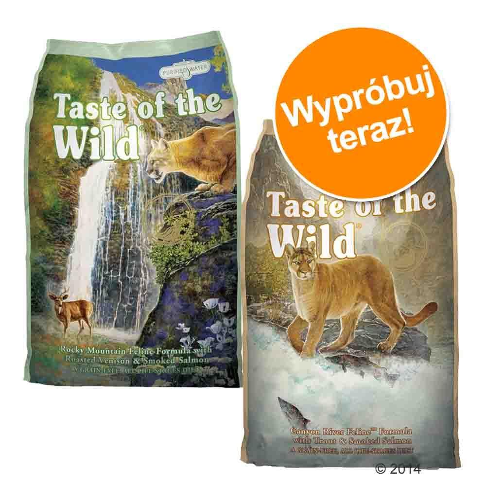 Pakiet próbny Taste of the Wild, 2 x 2 kg - 2 smaki