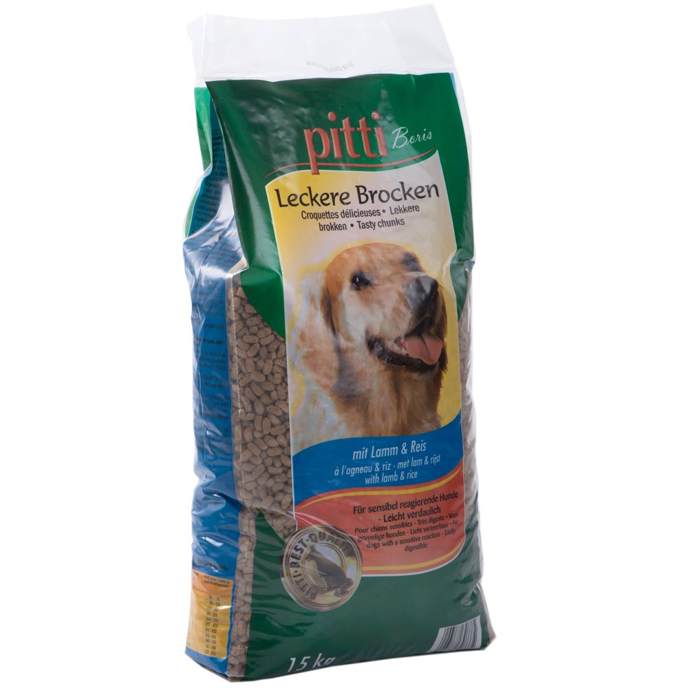 Pitti Boris Active Lamb & Rice - 15kg
