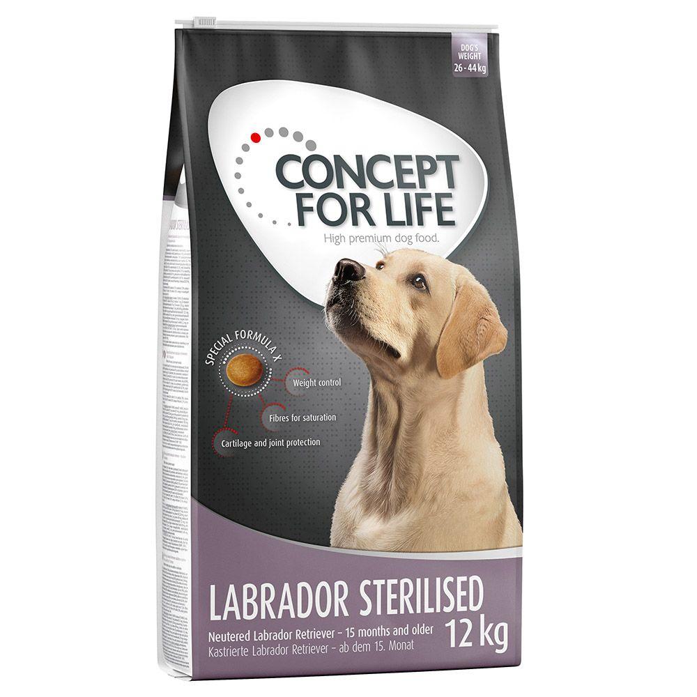 Concept for Life Labrador Sterilised  - Economy Pack: 2 x 12kg